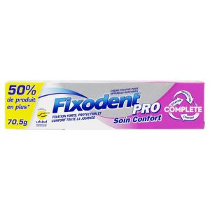 Fixodent Pro Compl Soin Conf70