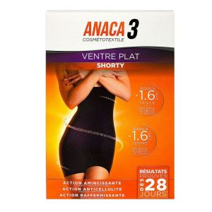 Anaca3 Shorty Ventre Plat L Xl