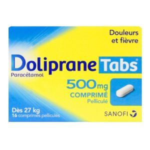 Dolipranetabs 500mg 16cp