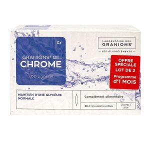 Granions Chrome 200 Lot 2*30am