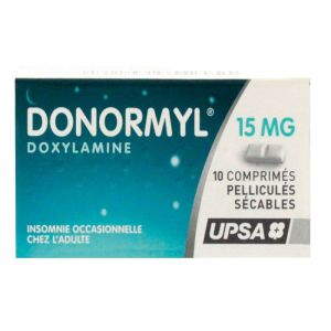 Donormyl 15mg Cpr Secable 10