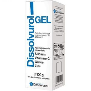 Dissolvurol Gel Silicium 100ml
