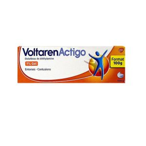 Voltarenactigo 1% Gel Tub 100g