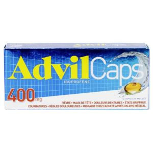 Advilcaps 400mg Caps 14