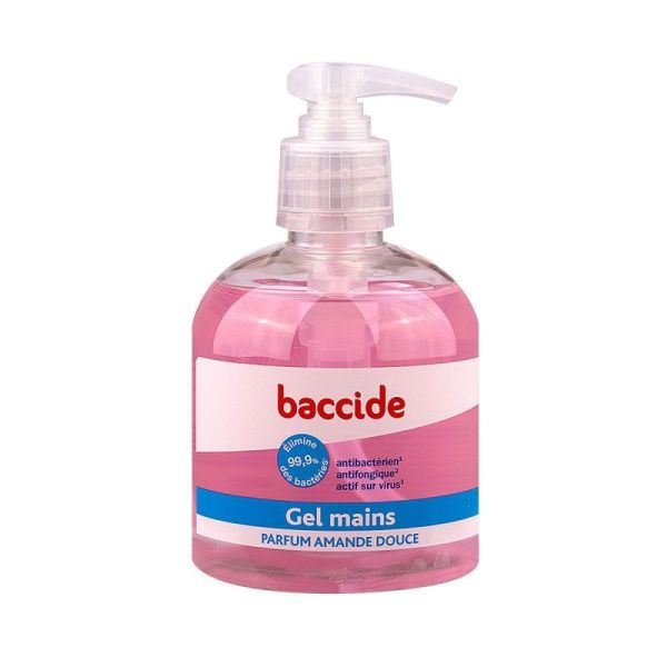 Baccide Gel Main S/rinc Rose 3