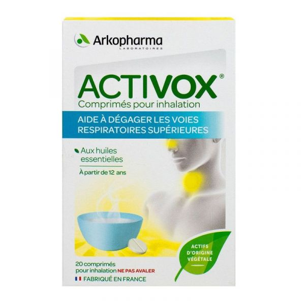 Activox Cpr Inhalation 20