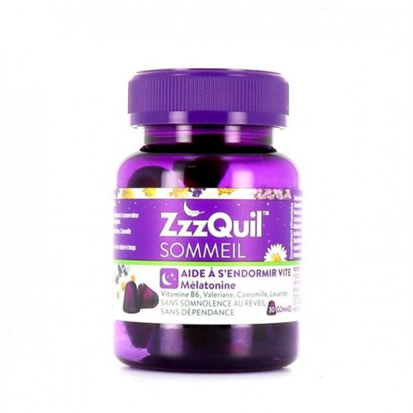 ZzzQuil Sommeil Gomme X30